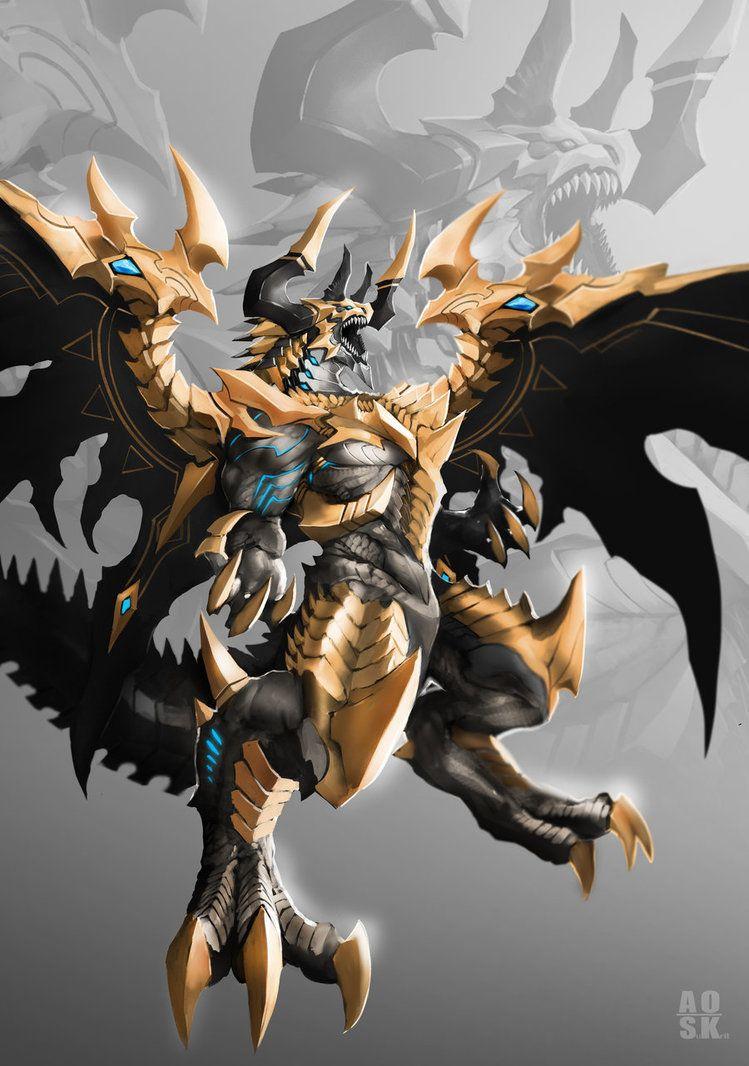 dragon god by aosk26 dragons in 2019 dragon fantasy