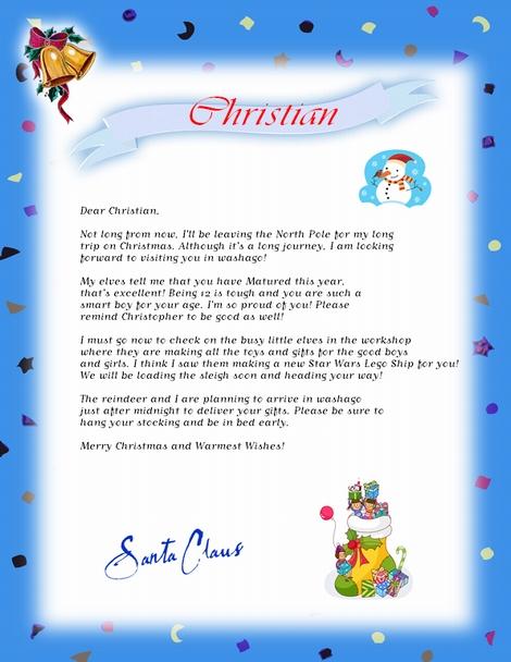 santa letters do it yourself Start your Santa Letter