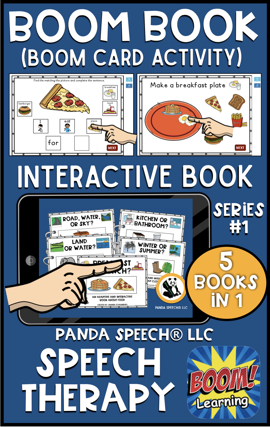 Digital Functional Vocabulary BOOM Books Series #1: Distance Learning