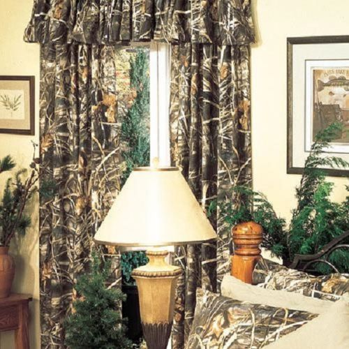 Window · REALTREE MAX 4 CAMOUFLAGE WINDOW CURTAINS ...
