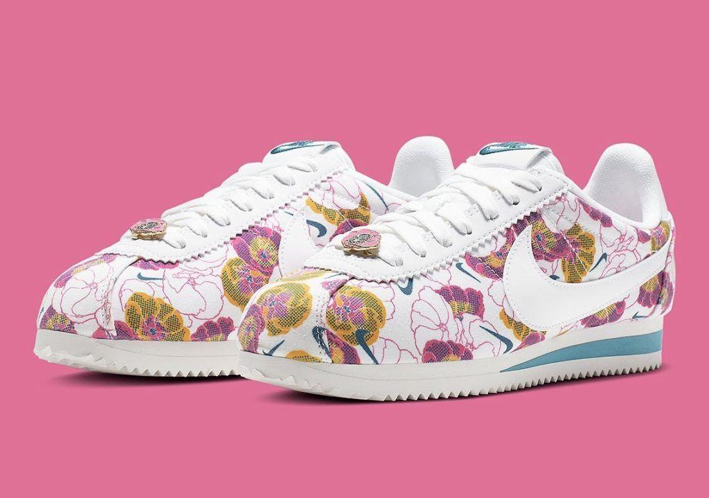 395c285d5dd3e NIKE Cortez LX Floral Pack sneakers. | dopefashionsense | Nike ...