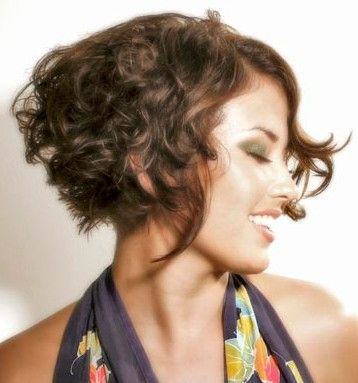 Short Hairstyles For Naturally Curly Hair1 Jpg 358 383 Pixels Short Wavy Hair Curly Hair Styles Hair Styles