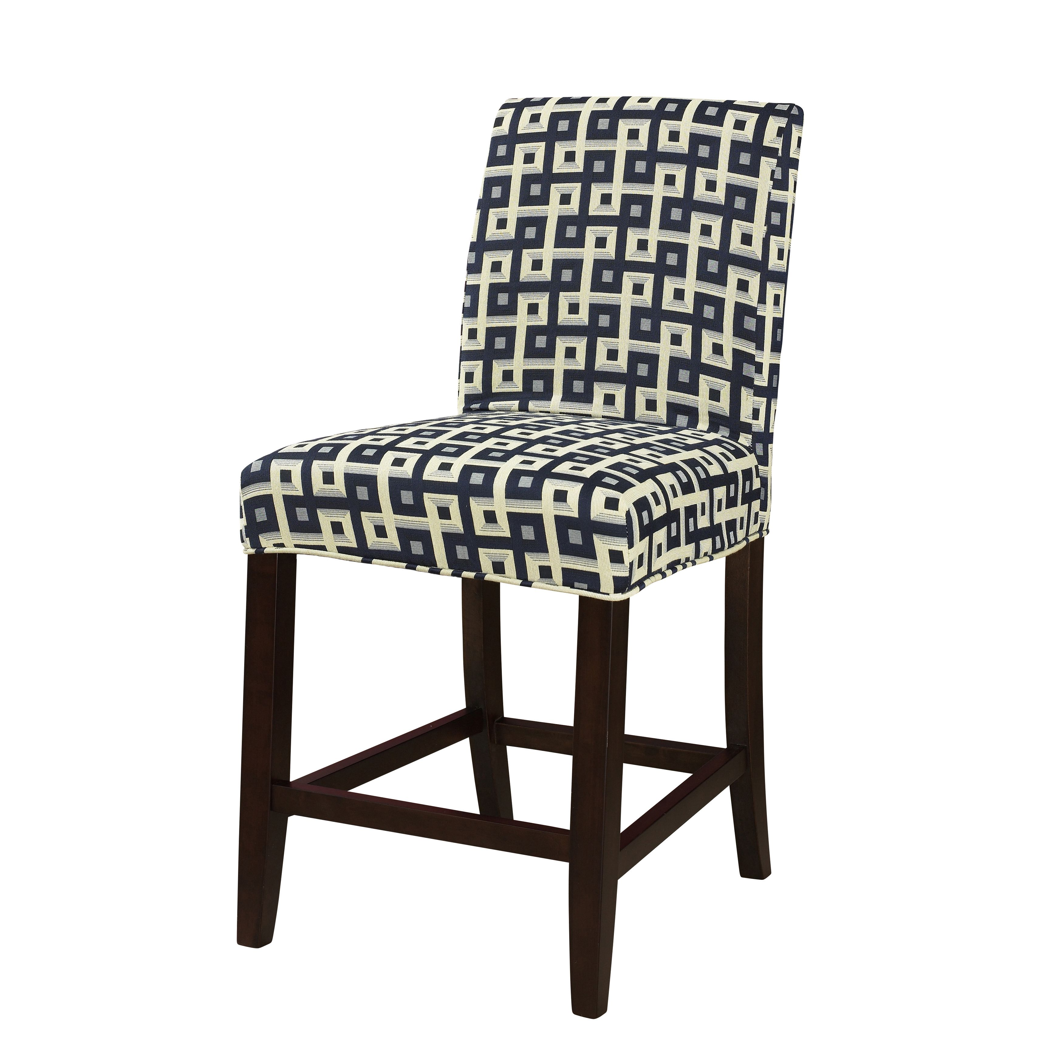 Powell Guinevere Navy and Cream Slip Over Slipcover by Powell