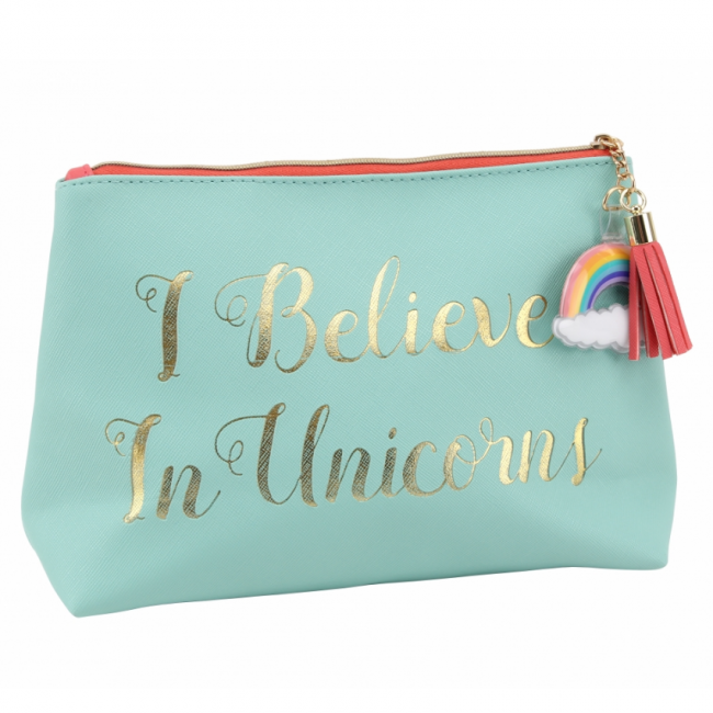 Cloud Nine I Believe in Unicorns Makeup Bag Makeup bag