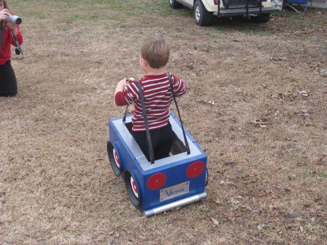 Cardboard Car, Soap Box