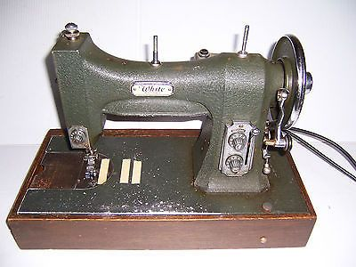 Vintage White Rotary Series 40 Sewing Machine With Case And Unique White Sewing Machine Model 77