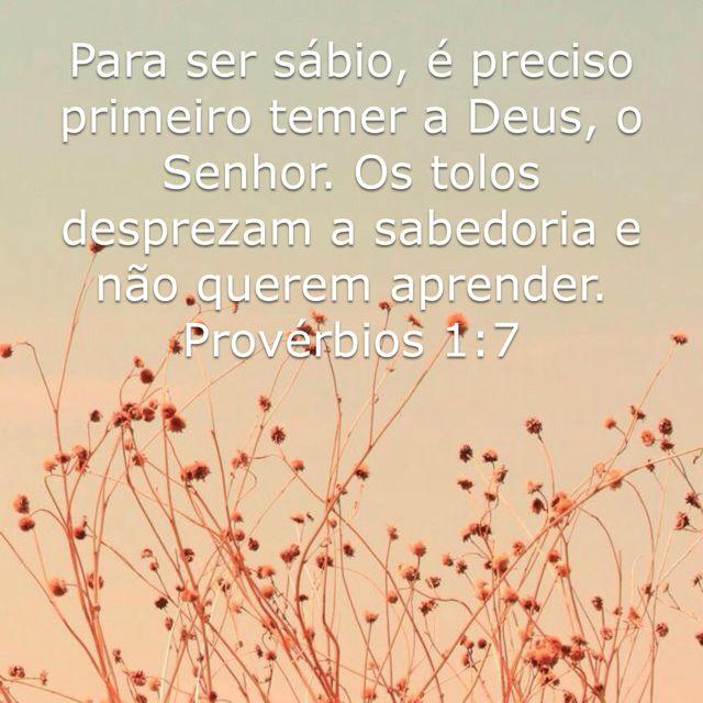 Provérbios 1:7