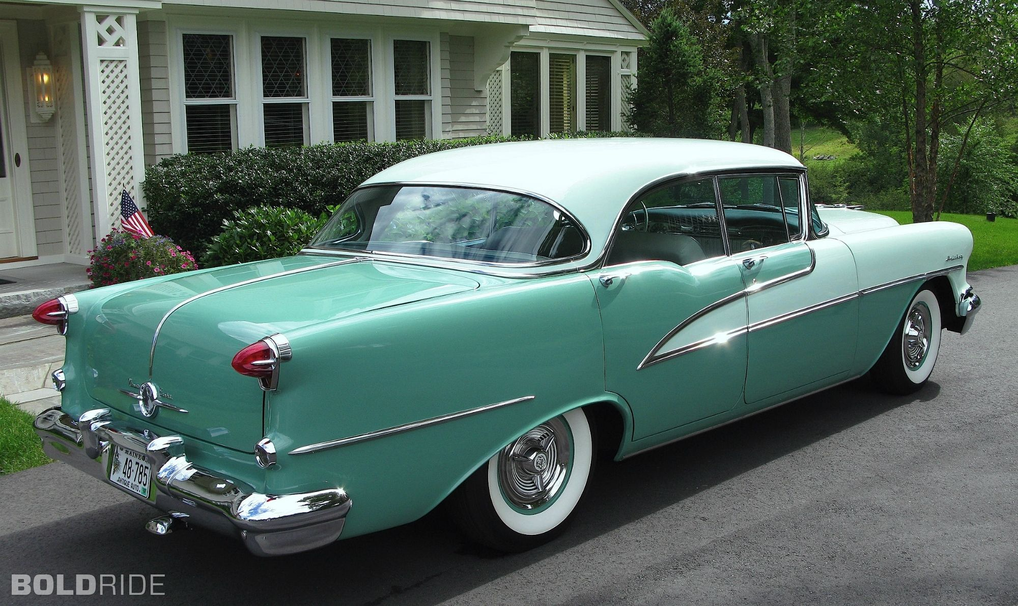 1955 Oldsmobile Ninety-Eight Holiday Sedan | Oldsmobile