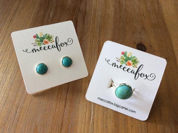 Mecca Fox Turquoise Ring