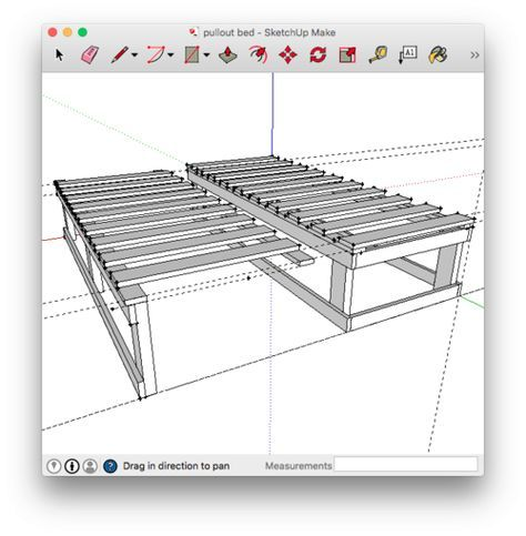 Extending Bed Frame — Ray Phung Photography