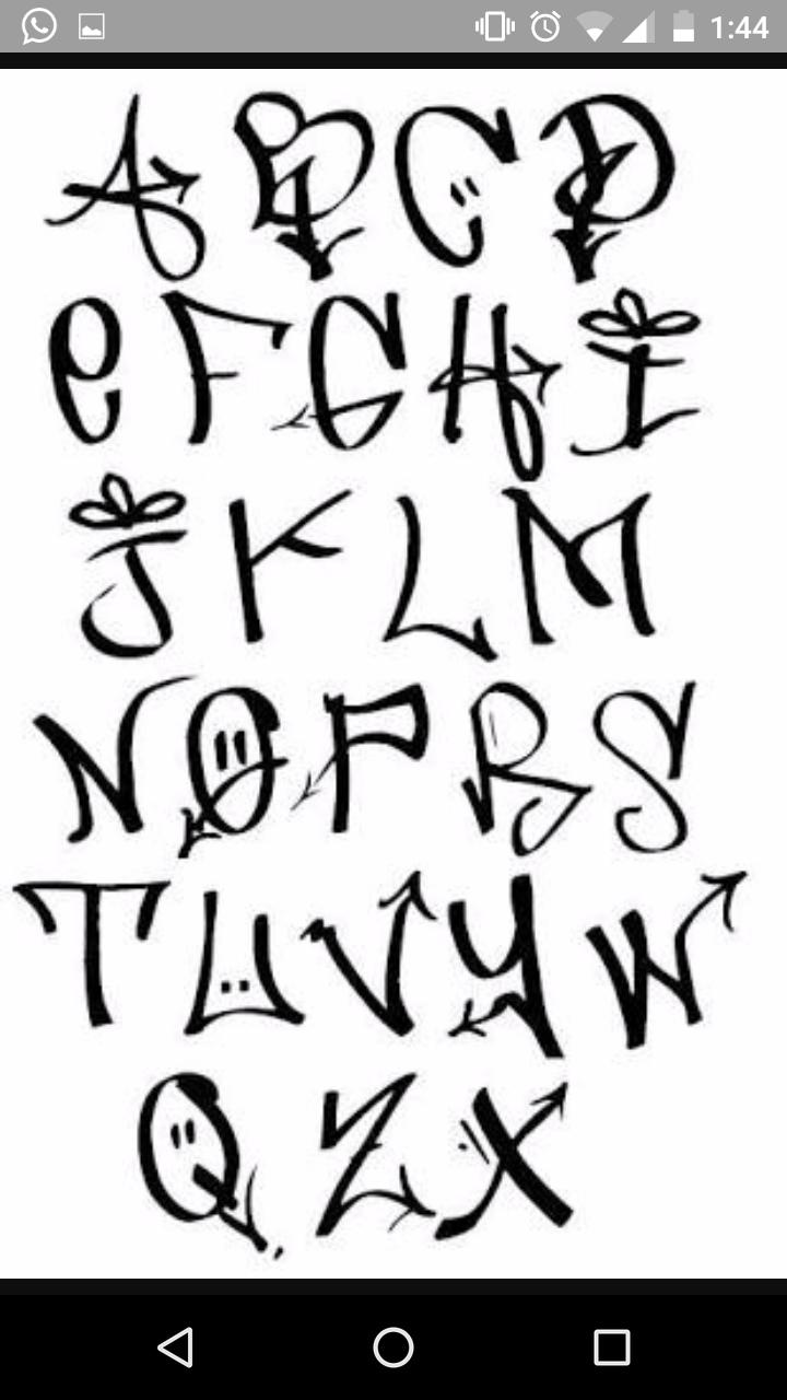 Graffiti art alphabet graffiti graffiti tagging alphabet letters graffiti tattoo grafitti