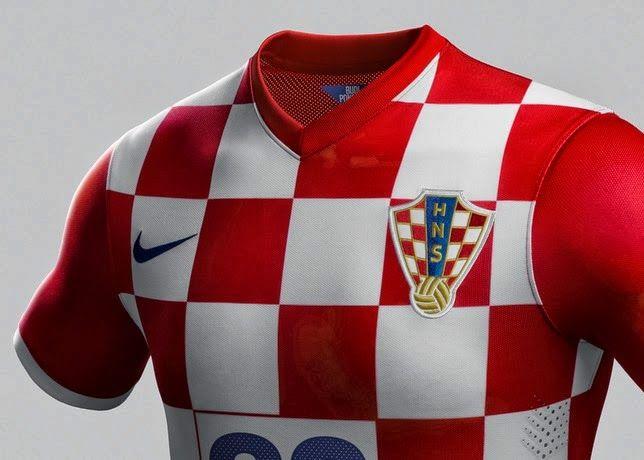 Croatia 2014 Fifa World Cup Home Shirt kit online World