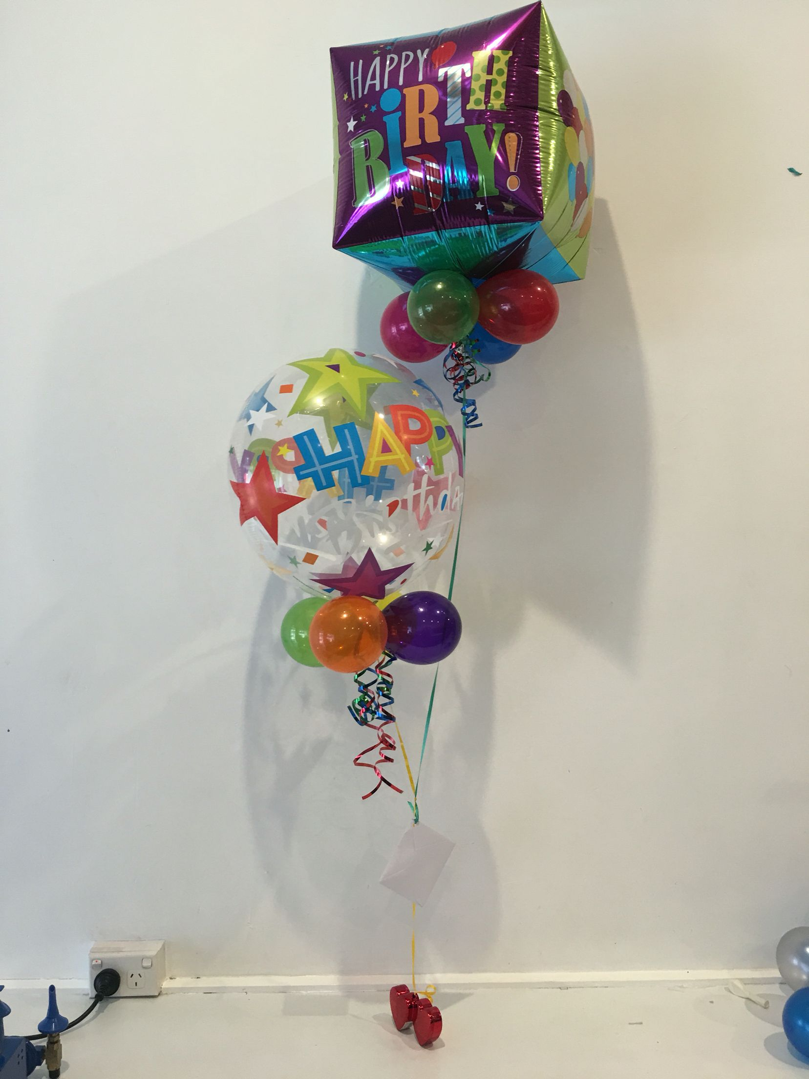 Cute Birthday Balloon Bouquet Send Balloons Online Delivery