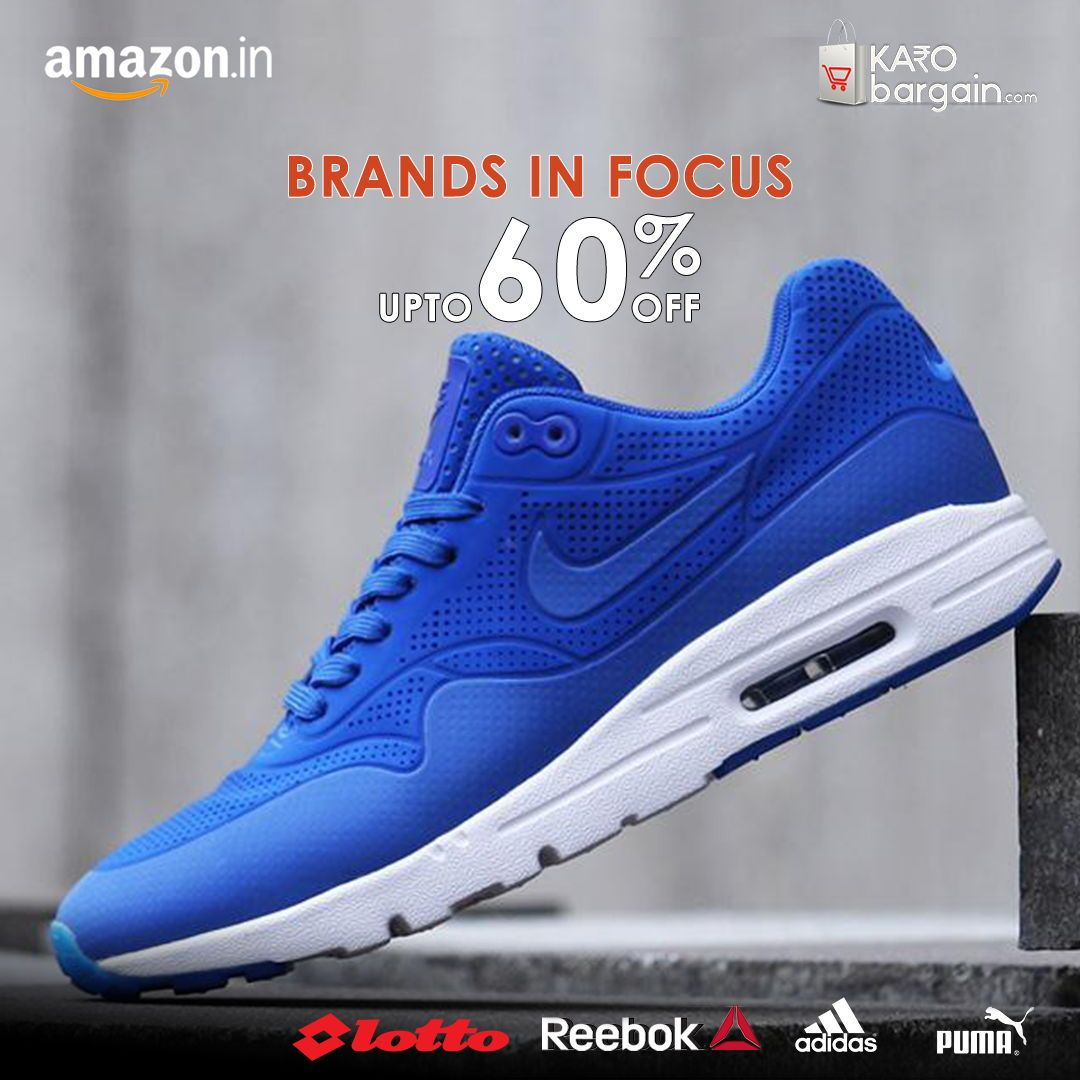 Amazing #Sports #Shoes sale at @amazonIN  with up to 60% Off. Top Brands like #puma #Nike #Adidas #ASICS #KaroBargain https://www.karobargain.com/stores/amazon/240049