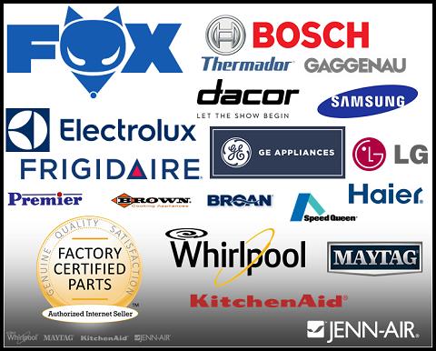 Fox Appliance Parts Atlanta Appliance parts, Gaggenau