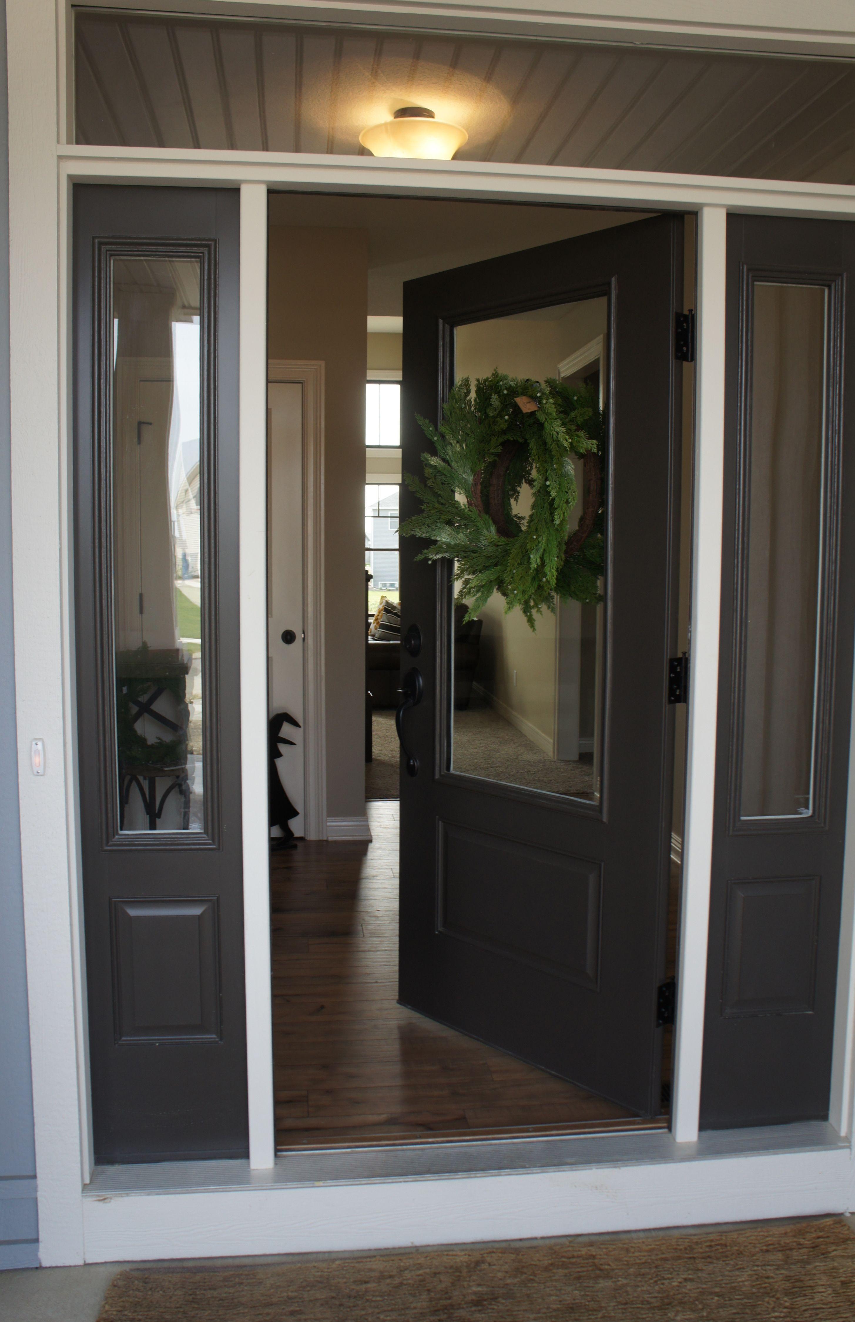 Sw 7020 Black Fox Front Door In 2019 Front Door Colors