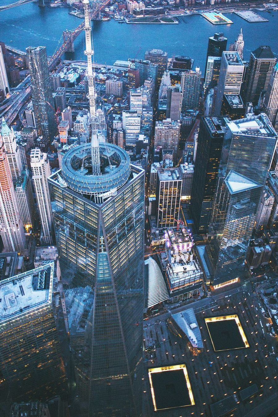 World Trade Center from above by @VanStyles | New York, New York