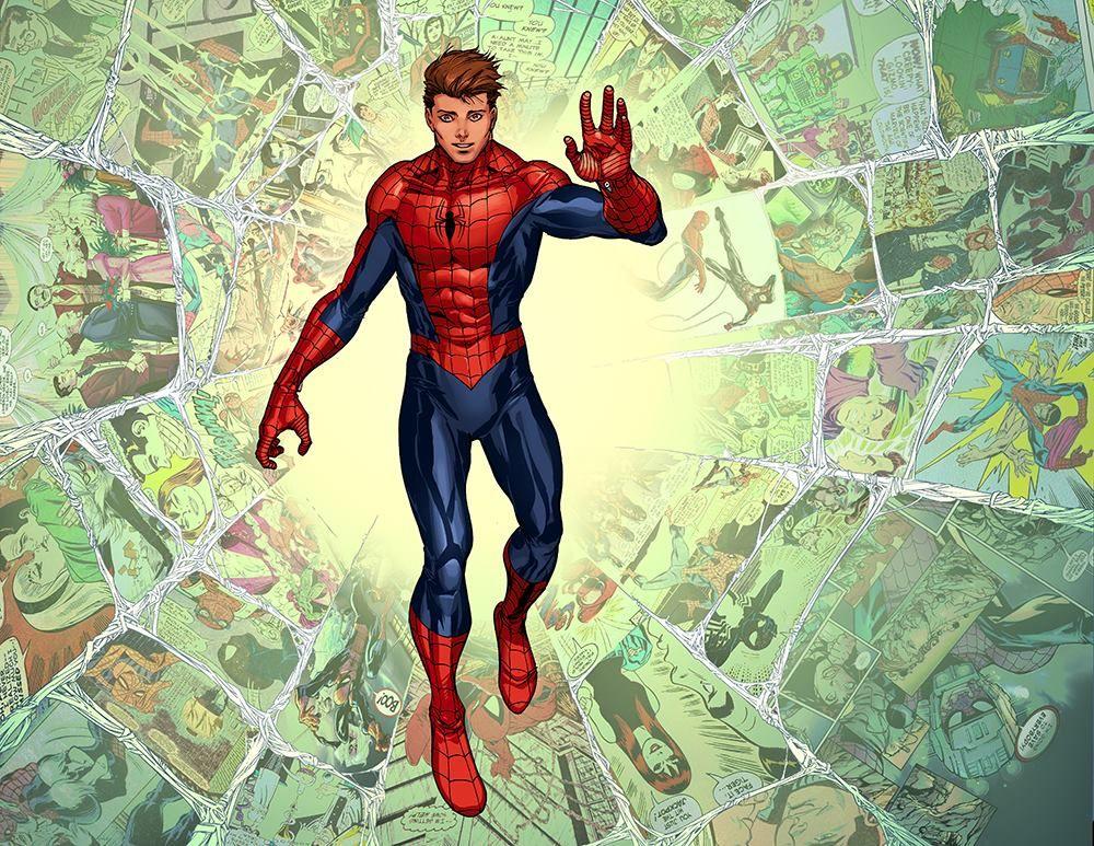 Superior Spider-Man #30 interior art by Giuseppe Camuncoli, John Dell, Antonio Fabela *