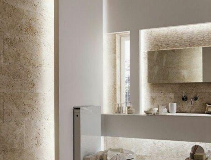 Quelle couleur salle de bain choisir? 52 astuces en photos! - salle de bains beige