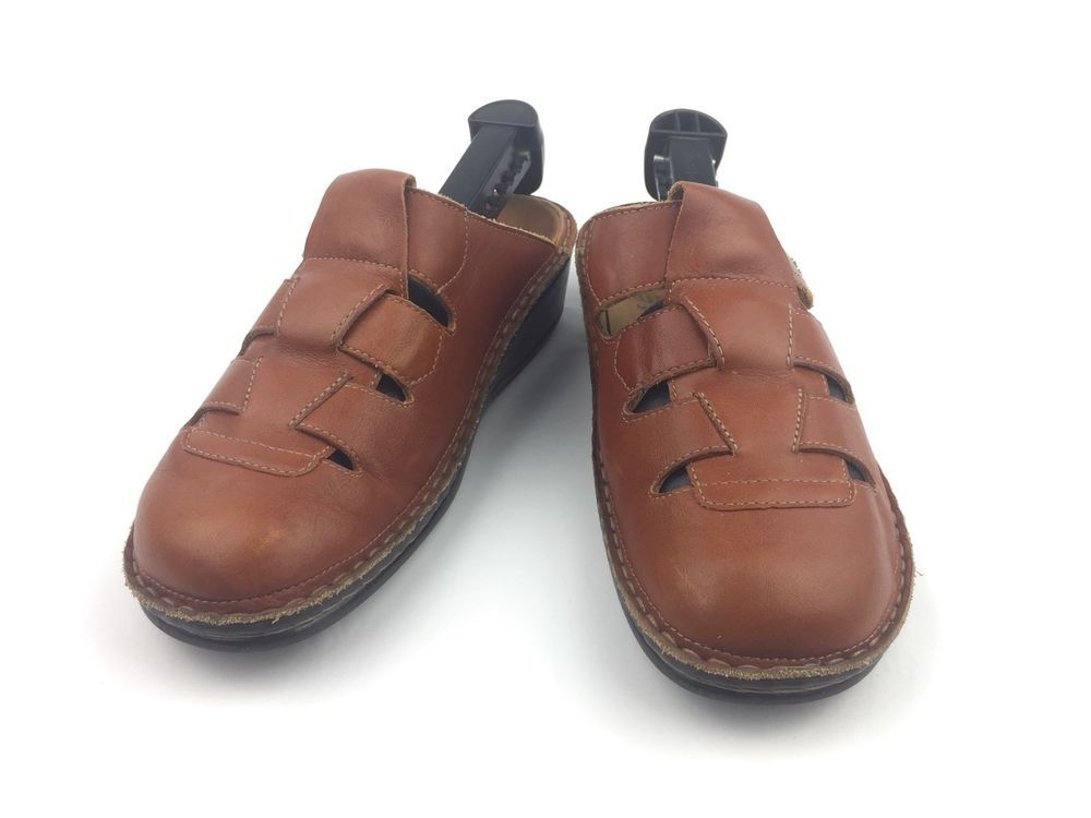 Finn Comfort Java Womens Brown Leather