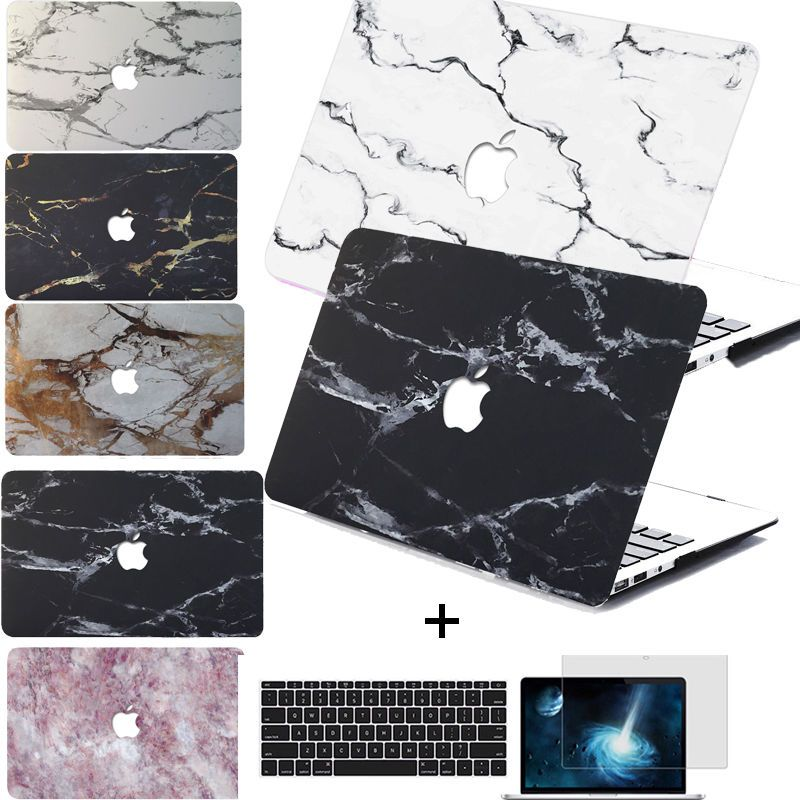 """New Painted Marble Pattern Hard Case Cover for MacBook Retina Pro 13//15/"""" Air 11/"""""""