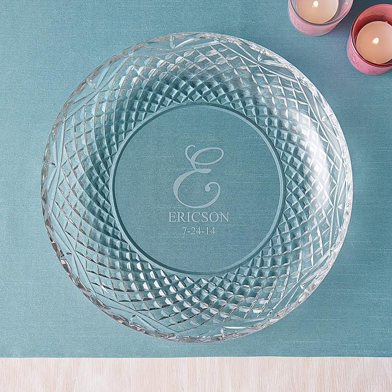 Galway European Crystal Plate Crystal Gifts Crystals Plates