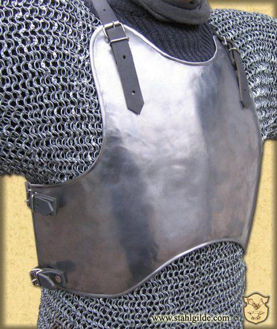 Larp Larp Armor Fantasy Medieval Costume Armor Steel Etsy Larp Armor Costume Armour Larp Costume