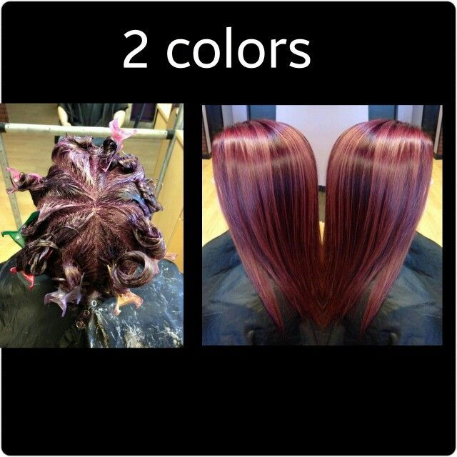 HOT NEW Hair Coloring Technique: Pinwheel Color! | Hair coloring ...