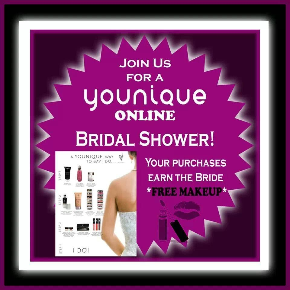 Are You Looking For A Younique Idea An Upcoming Bridal Shower Virtual Makeup