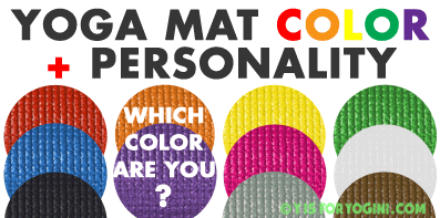 What Color Yoga Mat Is Best For You Personality Meaning Intention Y Is For Yogini Yoga Mats Best Yoga Mat Yoga