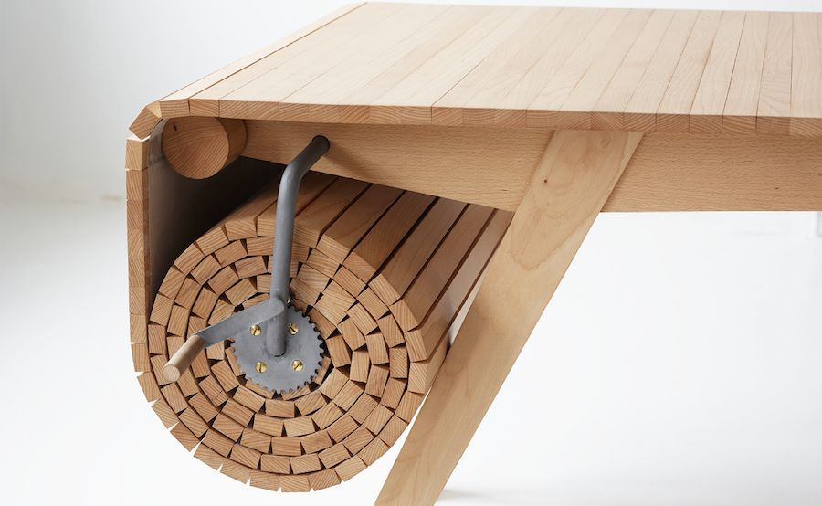 Smart Retractable Table Woodworking Projects Plans Wood