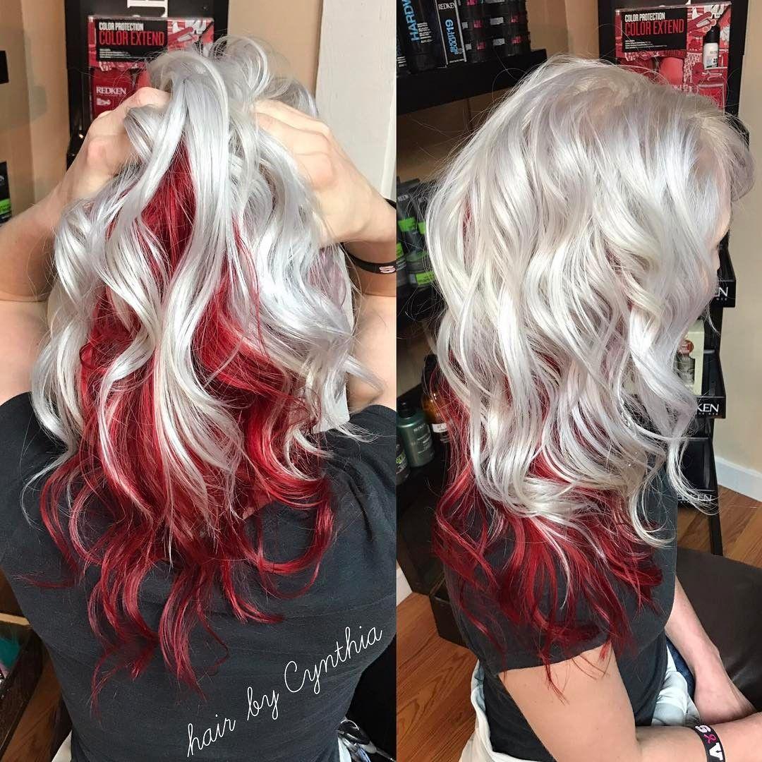 No Photo Description Available Wild Hair Color Undercolor Hair Long Hair Color
