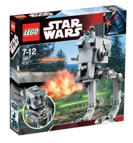 LEGO Star Wars 7657 AT-ST: Amazon.co.uk: Toys & Games | Cool Legos ...