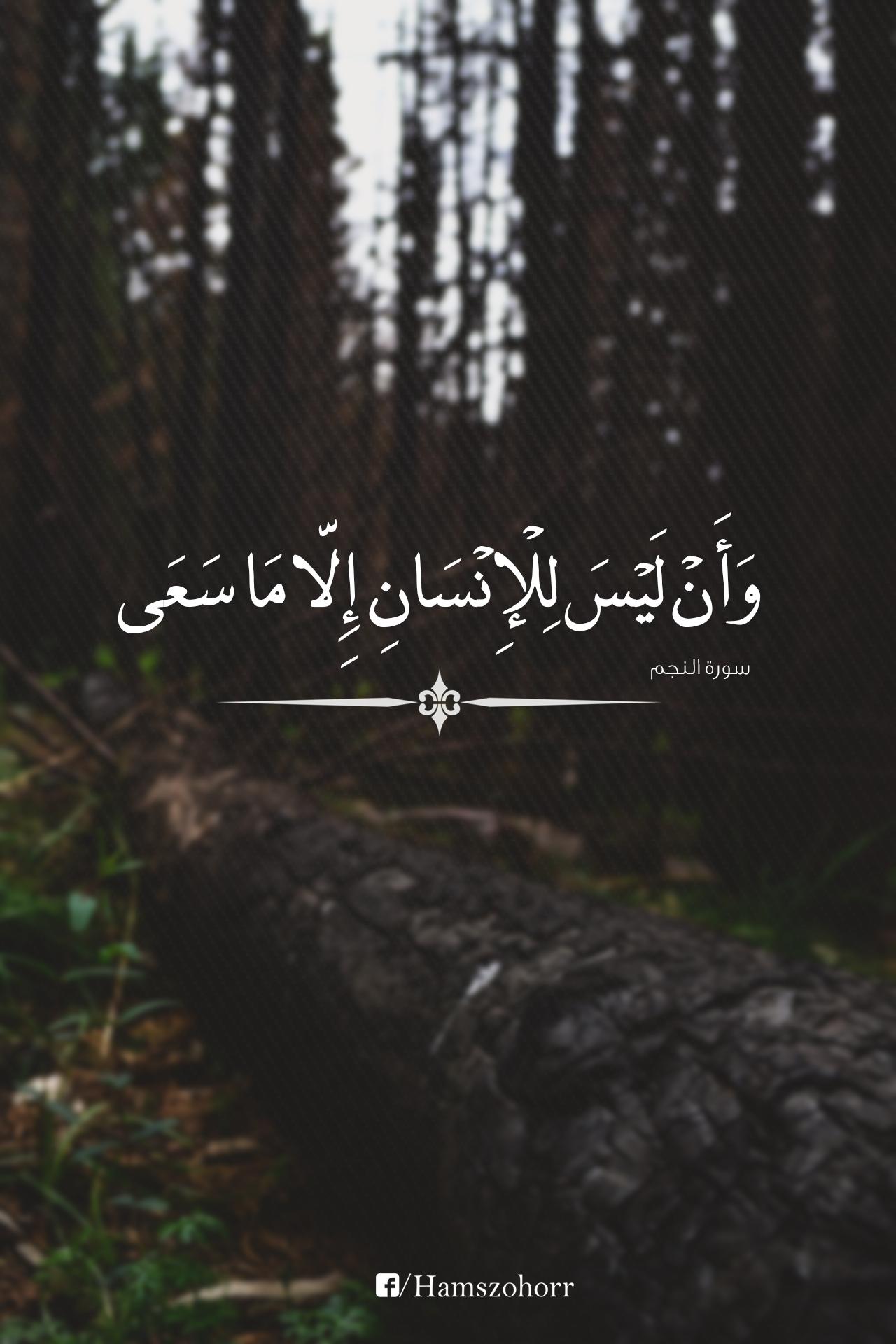 An Najm 39 : Sucré, Beautiful, Quran, Quotes,, Quotes, Love,, Verses
