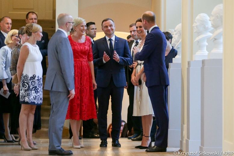 The Duchess Is Daring In Gosia Baczynska Party Frock What Kate Wore In 2020 Party Frocks Duchess Catherine Duchess