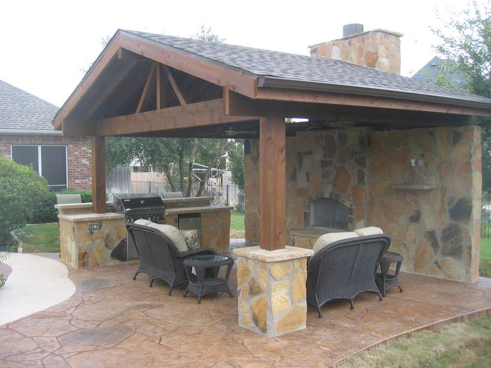 outdoor living areas, bbq islands, patio covers, patios ... on Backyard Patio Grill Island id=29299