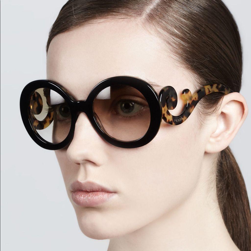 d044a7bd475 Authentic Prada round Baroque sunglasses in 2019