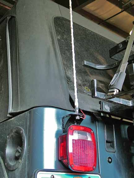Cb Antenna Mount For Jeep Jeep Antenas