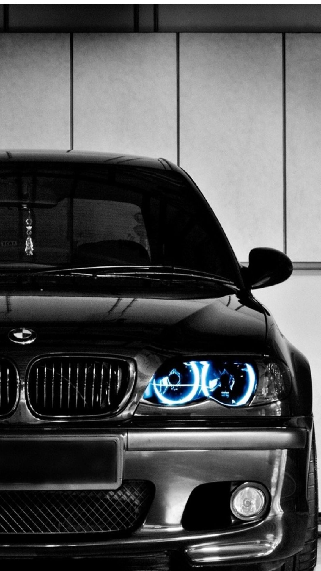 black bmw front blue led iphone 6 plus hd wallpaper httpfreebestpicture