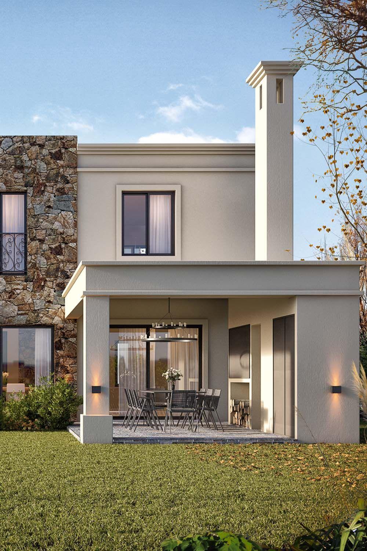 Casas De Campo Modernas Casa El Estilo Contempor Neo M S Natural Dise Os