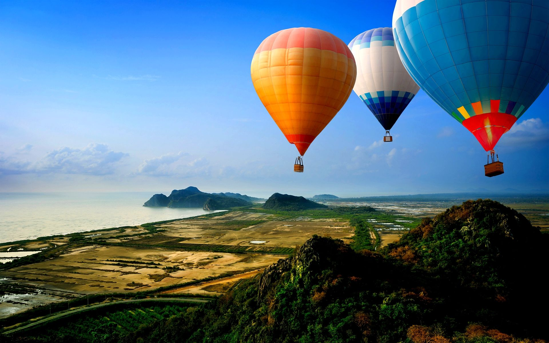 Hd Hot Air Balloons Wallpaper  Download Free - 131829 -1344