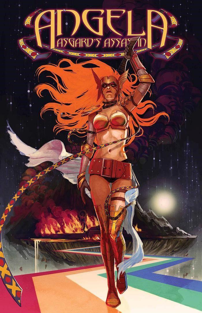 First Look at Angela: Asgard's Assassin #1 (Marvel)