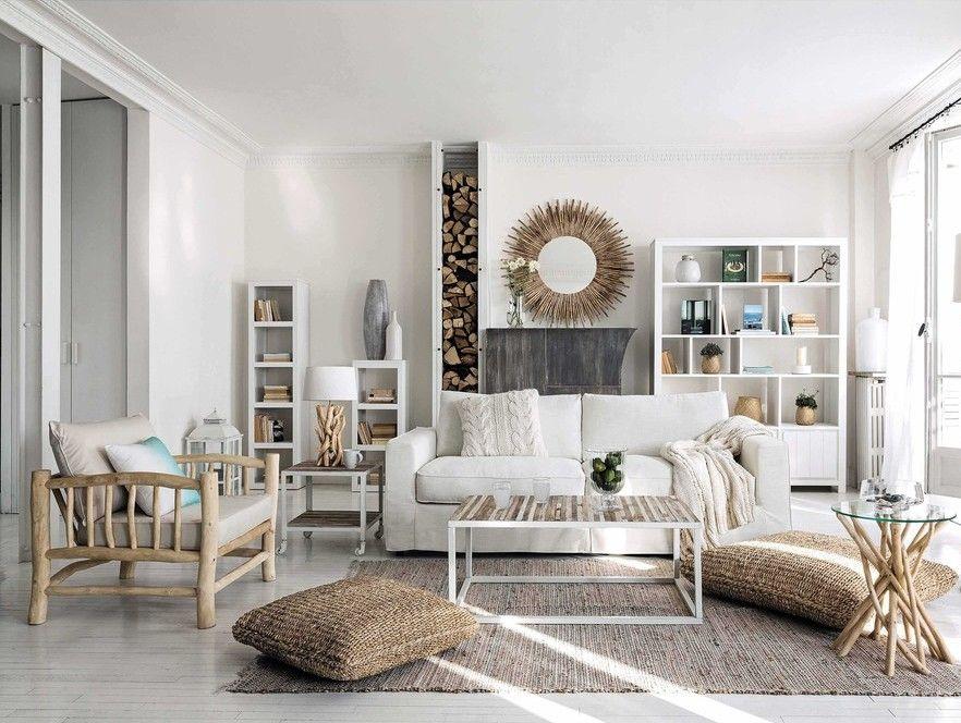 Une déco esprit bord de mer dans la maison | Living rooms and Room