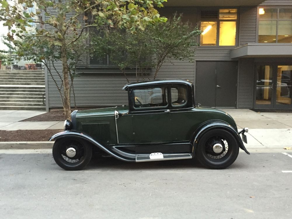 Ford : Model A coupe | Ford models, Motor car and Ford