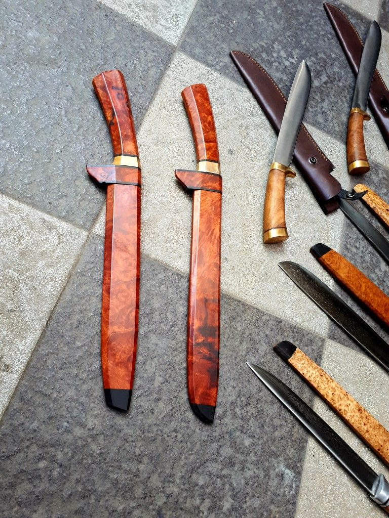 """GOLOK"" Indonesia traditional knives Pisau, Indonesia"