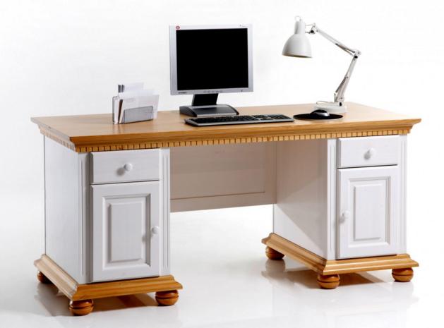 Schreibtisch Weiß Landhausstil 2021