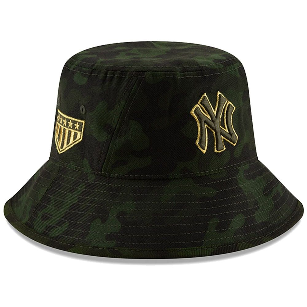 united states wholesale outlet great quality New York Yankees New Era 2019 MLB Armed Forces Day Bucket Hat ...