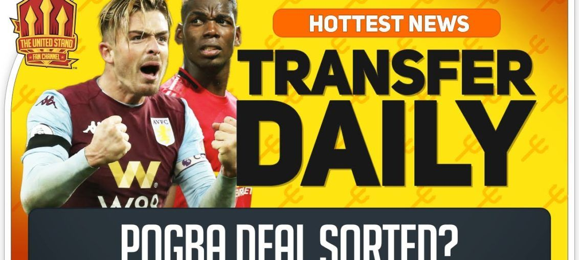 Manchester United Transfer News Grealish Can Replace Pogba Manchester United Pogba Gre In 2020 Manchester United Transfer News Manchester United Transfer Transfer News