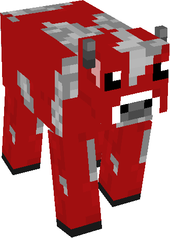 View And Download Hd Red Cows Minecraft Minecraft Red Cow Related Minecraft Blue Cow Png Image For Free The Image Resolution Is 335x469 Cow Png Blue Cow Cow