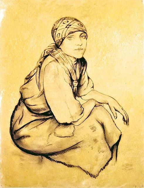 Gypsy Woman Art | Gypsy Woman, Walter Sauer